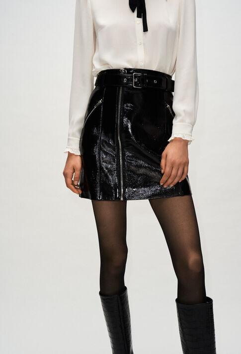 CASINOH19 : Faldas y pantalones cortos color NOIR