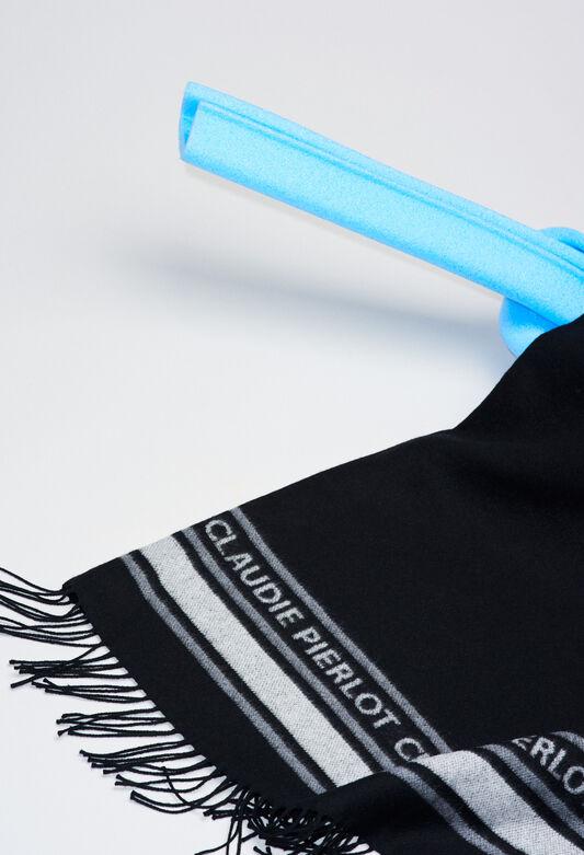 ATIKUSH19 : Pañuelos y bufandas color NOIR