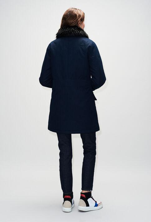 GINEVRAH19 : Manteaux et Blousons couleur MARINE