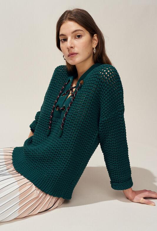 MODERNE : Jerseys de punto y sudaderas color VERT IMPERIAL