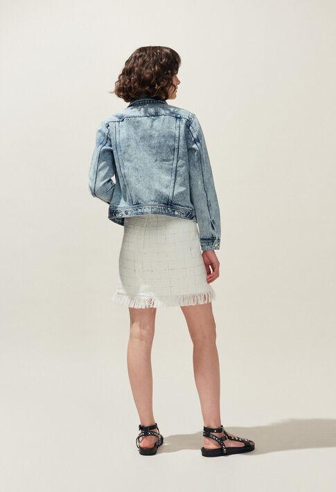 SOURIRE : Jupes et Shorts couleur Ecru