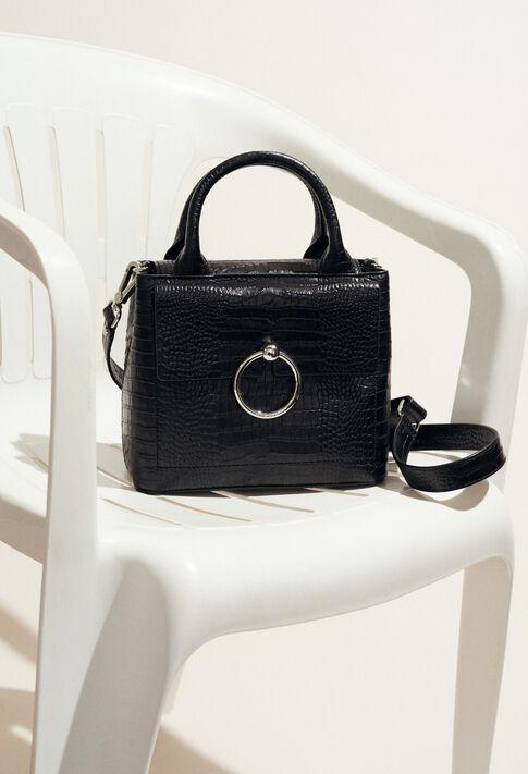 ANOUCK SMALL REPTILE CROCO : Chaussures & Accessoires couleur Noir