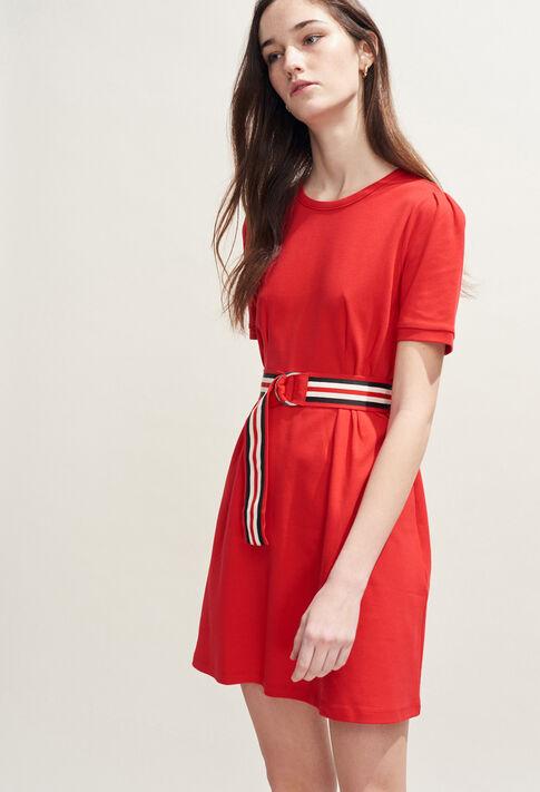 TIMINI : Robes couleur Ecarlate