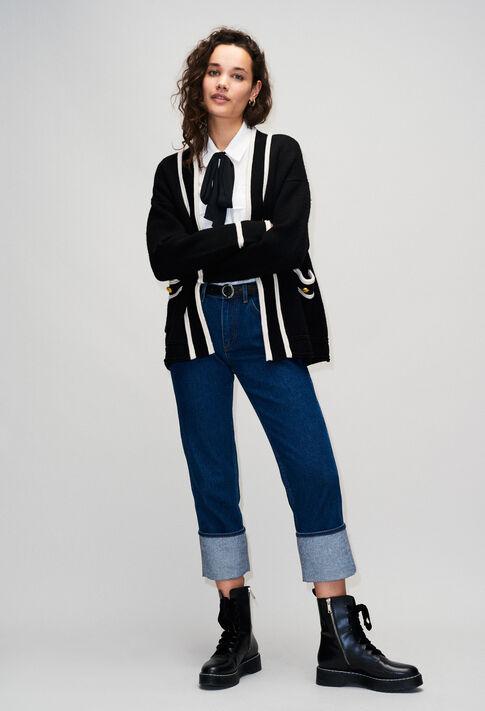MAXICLICH19 : Maille & Sweatshirts couleur NOIR