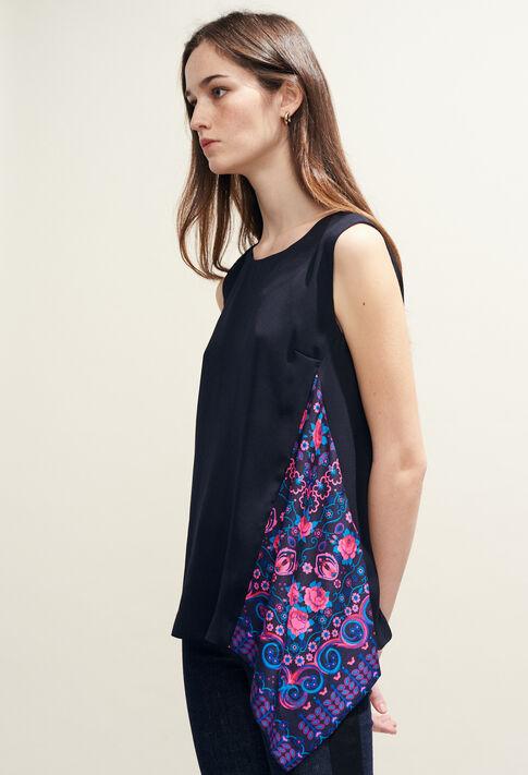 BALADINE : Tops y camisas color Marine