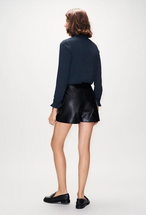 EDMONDCUIRH19 : Faldas y pantalones cortos color NOIR