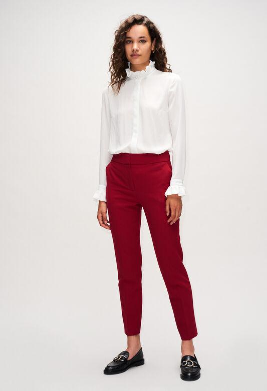 PHANPHANH19 : Pantalones y vaqueros color CERISE