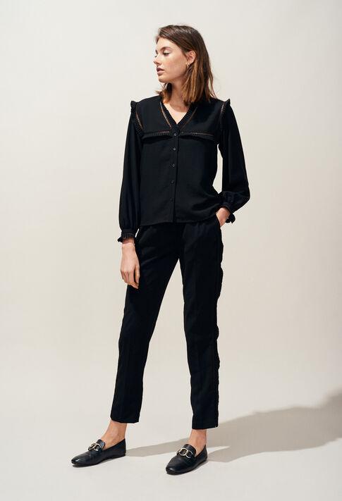 BULLE : Tops et Chemises couleur Noir