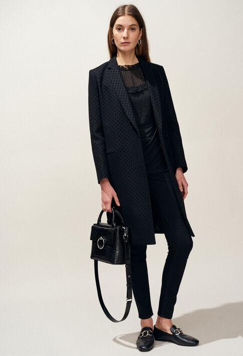 GOLD POIS : Abrigos y chaquetas color Noir