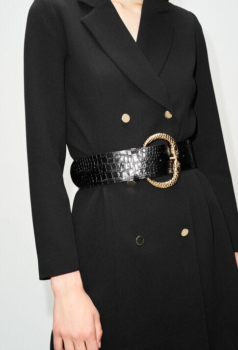 ASERPENTH19 : Cinturones color NOIR