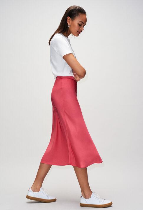 SELMAH19 : Faldas y pantalones cortos color BUBBLE GUM