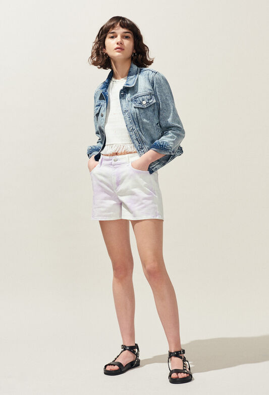 ELLIPSE : Faldas y pantalones cortos color LILAS