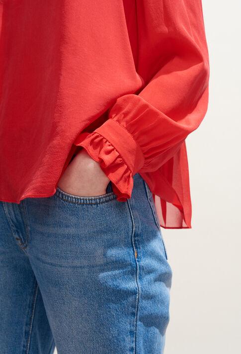BRETZEL : Tops y camisas color Ecarlate