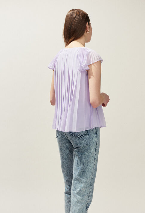 BLAZA : Tops y camisas color Lilas