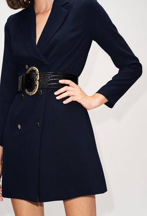 RESEAUH19 : Vestidos color MARINE