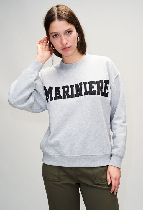 TYPOH19 : Jerseys de punto y sudaderas color GRIS CHINE CLAIR