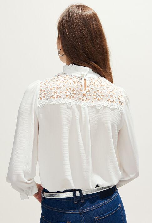 BADABOUM BIS : Tops & chemises couleur Ecru