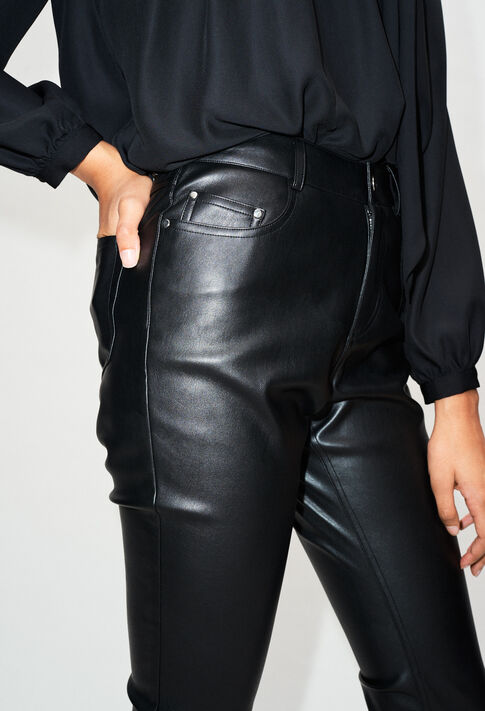 PANAMEH19 : Pantalones y vaqueros color Noir