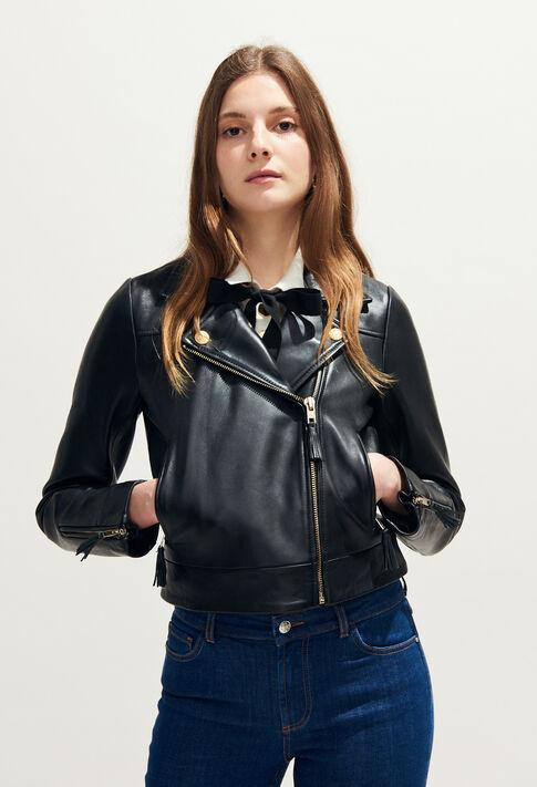 CASTEL : Vestes couleur Noir