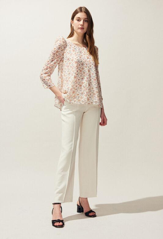 BANC ENNA : Tops et Chemises couleur IVOIRE