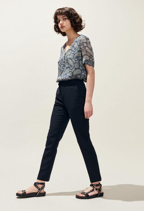 PLAISIR : Pantalons et Jeans couleur Marine