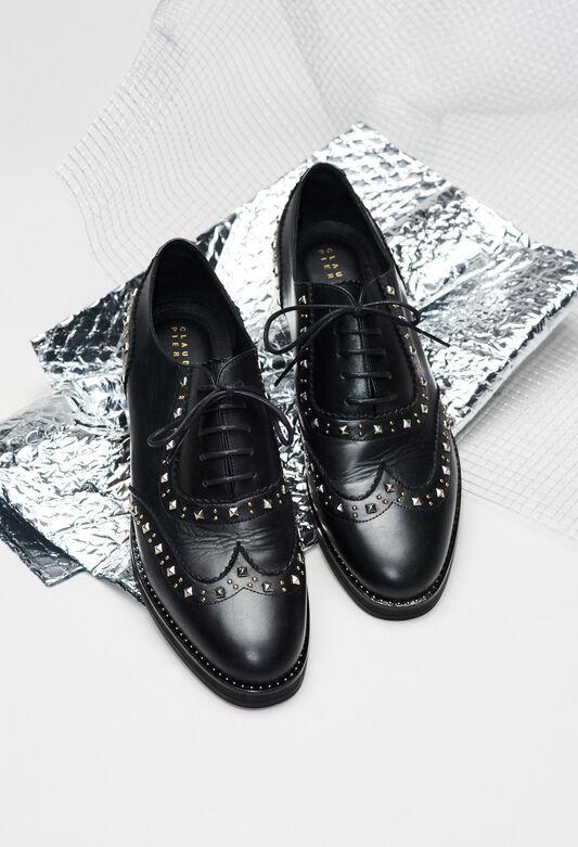 ALEXISSTUDSH19 : Zapatos color NOIR