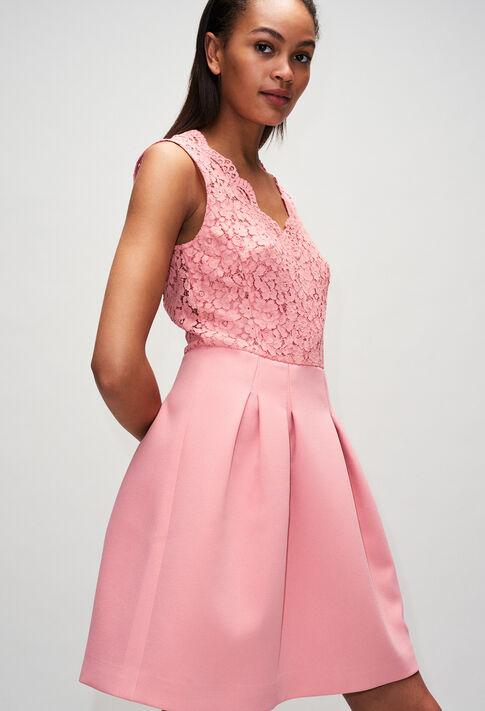 RAGAZZAH19 : Vestidos color ROSE PECHE