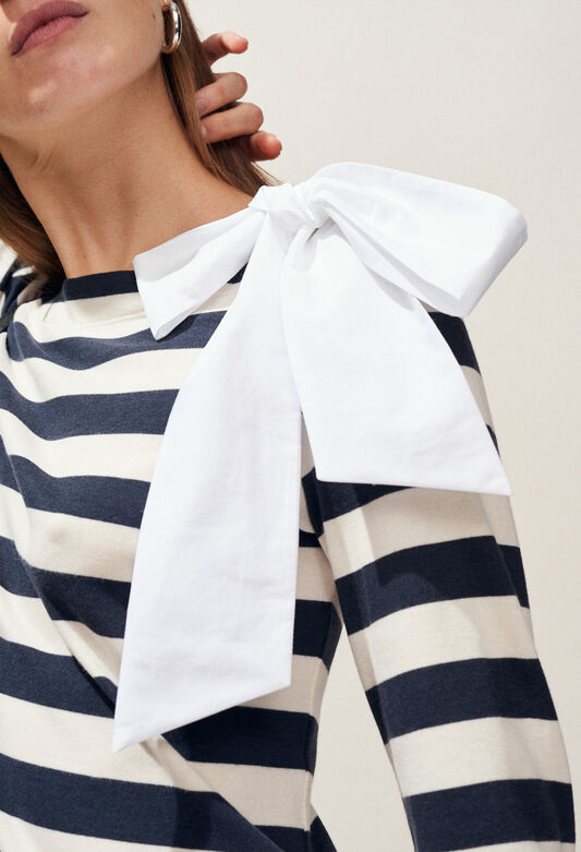 TRINQUETTE : Camisetas color MARINIERE