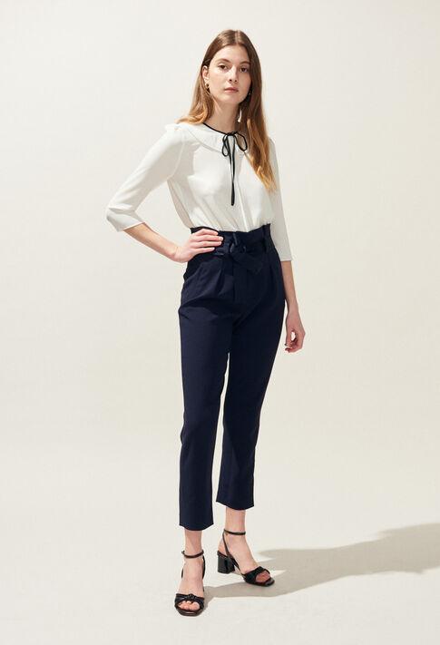PAULETTA : Pantalons et Jeans couleur Marine