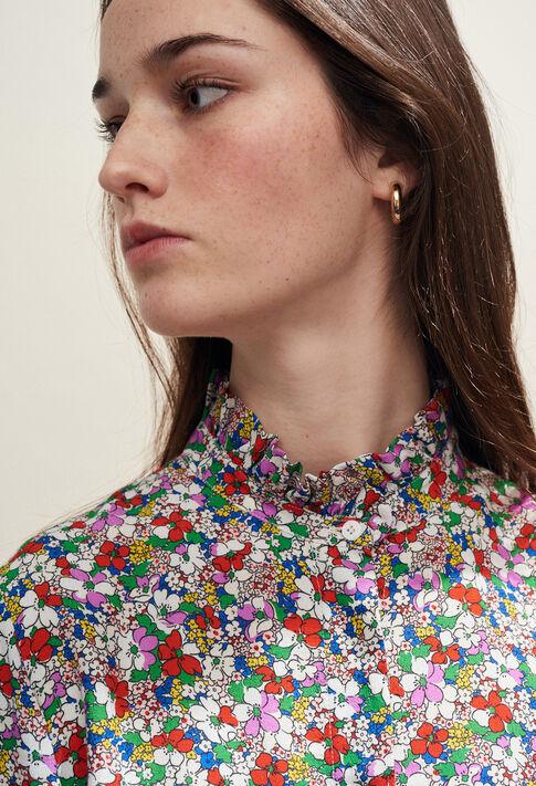 COLOMBINE FLEURETTES : Tops et Chemises couleur MULTICO