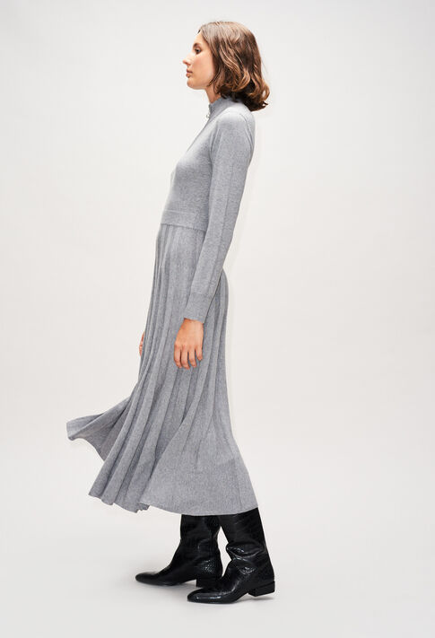 MAMMAH19 : Vestidos color GRIS CHINE CLAIR