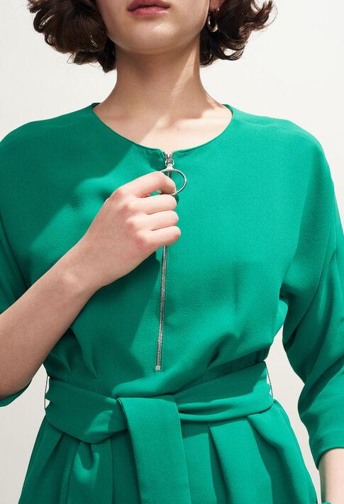 BAVIERE : Tops y camisas color VERT VEGETAL