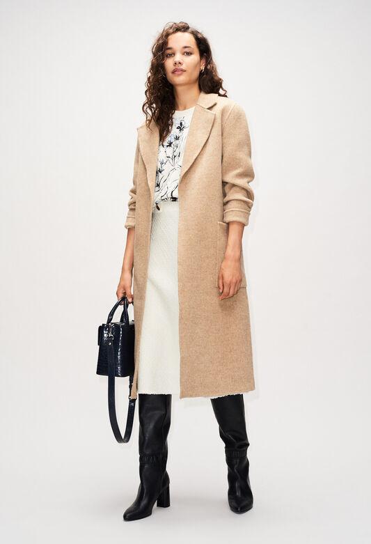 GANIAH19 : Abrigos y chaquetas color SABLE