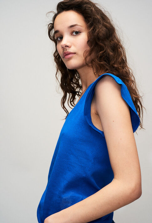 TRESSEH19 : Camisetas color BLEU ROI