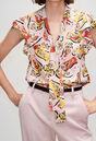 BAVARDH19 : Tops y camisas color PRINT