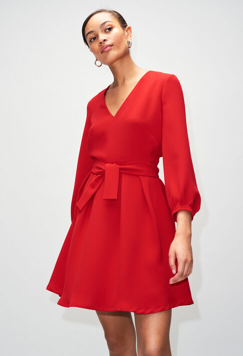 ROSEANEH19 : Robes couleur COQUELICOT