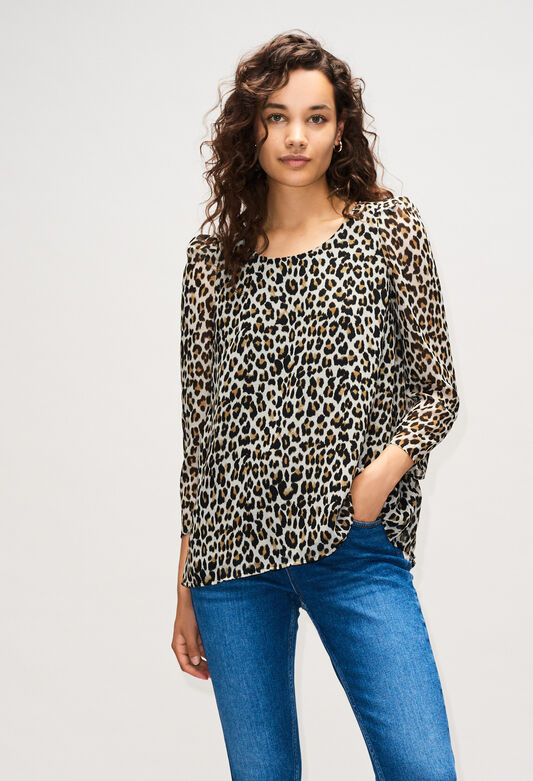 BANCLEOPARDH19 : Tops y camisas color PRINT