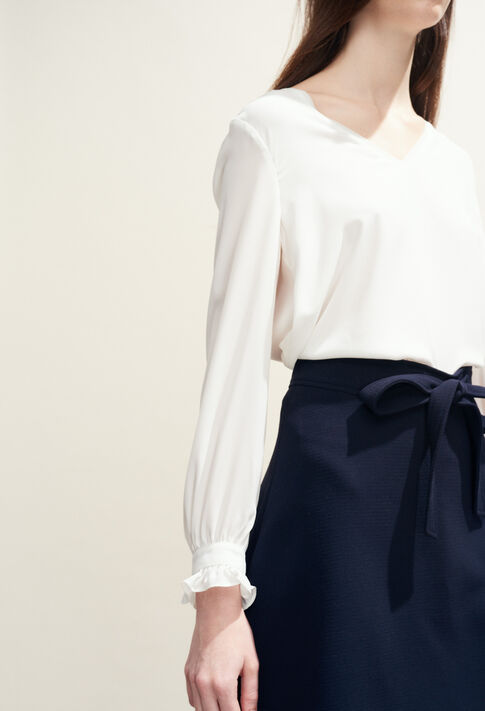 BRETZEL BIS : Tops y camisas color Ecru