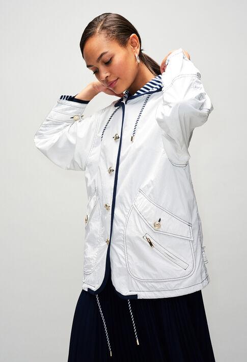 GIANIH19 : Abrigos y chaquetas color ECRU