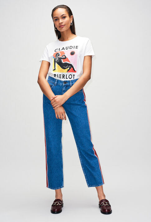 TIAMOH19 : T-Shirts couleur ECRU