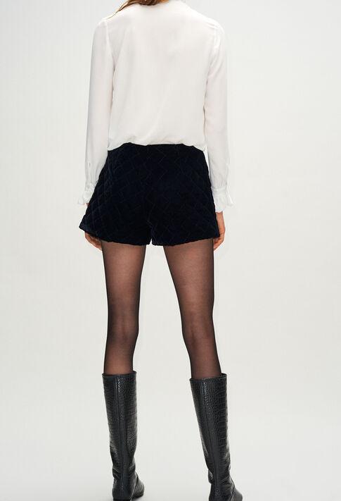 EFFECTH19 : Faldas y pantalones cortos color MARINE