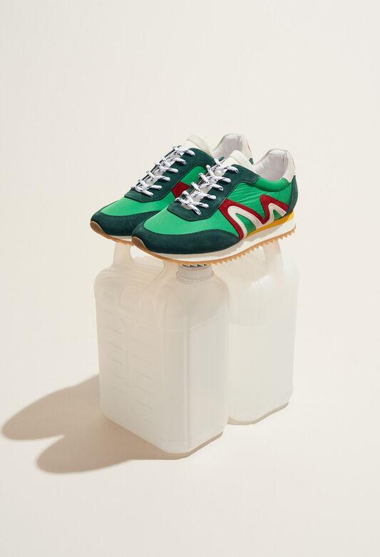 ABIGAILLE : Zapatos color VERT