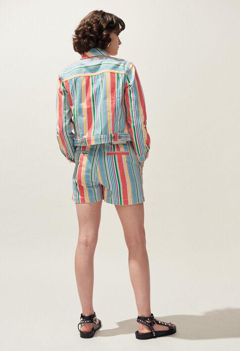 ELLIO : Faldas y pantalones cortos color MULTICO