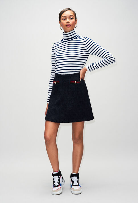 SAVANAH19 : Faldas y pantalones cortos color MARINE
