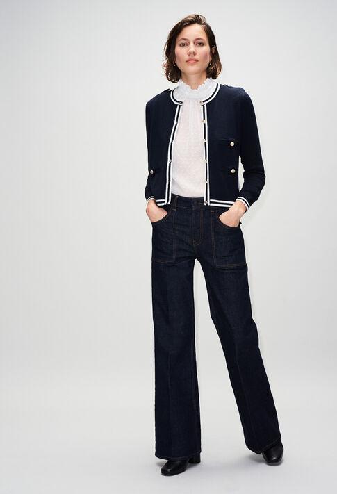 MAXIMERH19 : Jerseys de punto y sudaderas color MARINE