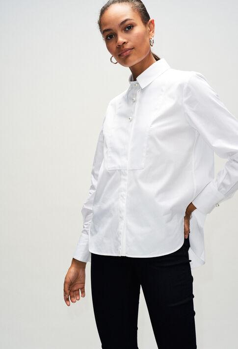 CHACHAH19 : Tops y camisas color BLANC