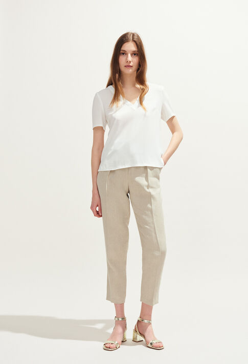 BOWLING BIS : Tops y camisas color ECRU