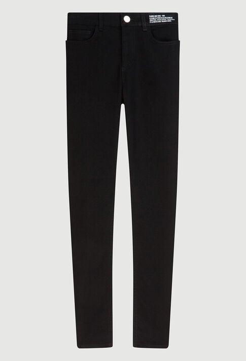 POWERH19 : Pantalons et Jeans couleur NOIR