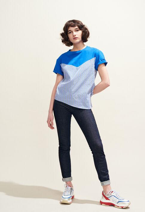 TATUM : Camisetas color Indigo