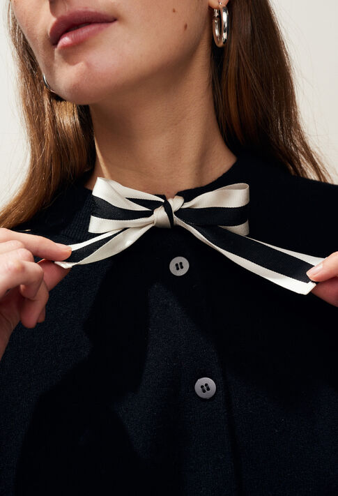 MARTHY : Jerseys de punto y sudaderas color Noir